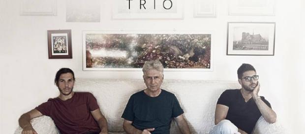 """Il """"Pagliuca Trio"""", da sinistra: Alberto, Antonio (Tony) ed Emanuele"""
