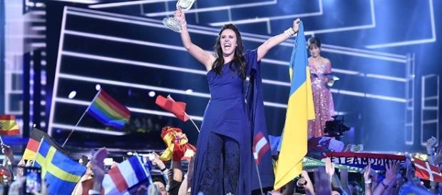 Jamala al ganar Eurovisión en mayo