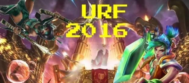 URF 2016 ahora en modo aleatorio para divertirnos todos juntos suerte invocadores