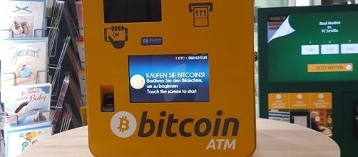 A bitcoin ATM in a shop in Vienna, Austria / Elph, Wikimedia Commons CC BY-SA 4.0