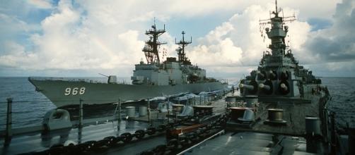 USS Arthur W. Radford cacciatorpediniere della Marina degli Stati Uniti.