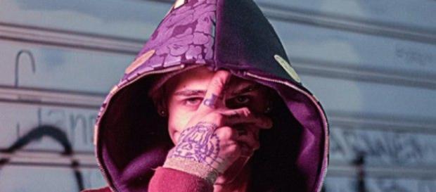 Achille Lauro, rapper romano classe 1990.