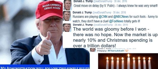 Du grand nimportenawak, mais puisque plus c'est gros, mieux cela passe, Donald Trump durera... le temps d'un mandat