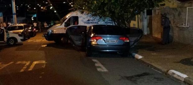 Homem mata 11 pessoas em Campinas durante a festa de Réveillon em Campinas (Foto: Gustavo Biano / EPTV)