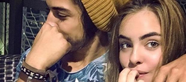 Para muitos, Douglas está com Mariana Braguês só porque ela se parece com Rayanne Morais
