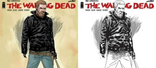 Alternative covers for TWD comics - adorocinema.com