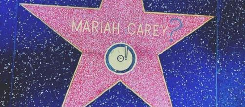 Foto tratta da Instagram: la stella della Carey