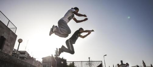 In Pictures: Palestinian parkour - Al Jazeera English - aljazeera.com