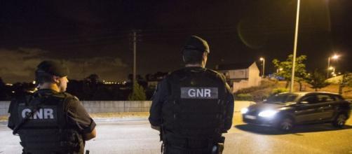 Um militar da GNR quase foi atropelado