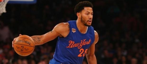 Derrick Rose desapareció sin previo aviso y dejó tirados a sus Knicks.