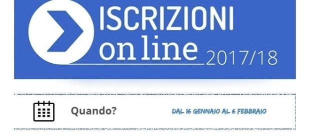 Iscrizioni scuola on line 2017/2018