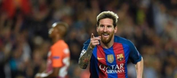 Lionel Messi, craque do Barcelona da Espanha
