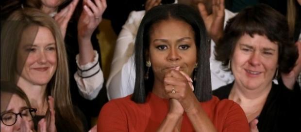 Michelle Obama em seu último discurso como primeira dama