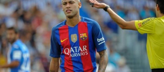 Neymar, craque do Barcelona da Espanha