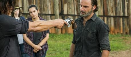 The Walking Dead : Rick prêt à reprendre les armes