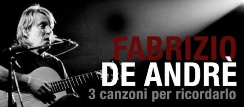 Fabrizio De Andrè - 3 canzoni per ricordare il cantautore