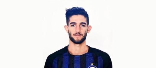gagliardini con la maglia dell'Inter