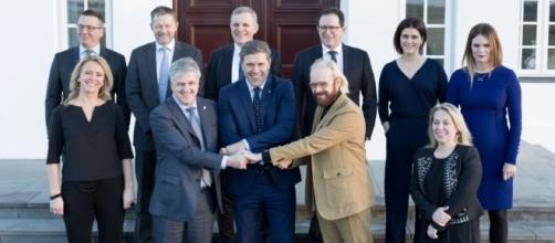 I membri del primo governo Benediktsonn. Fonte: Grapevine.is