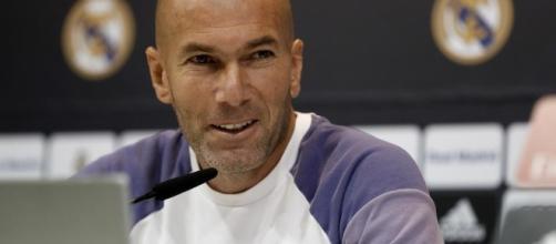 Zidane sabe que que es un partido complicado ante el Sevilla. Foto: EFE