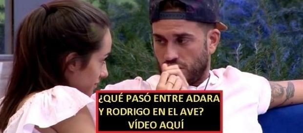 Adara y Rodrigo estuvieron a solas ¿qué pasó? Vídeo en la noticia