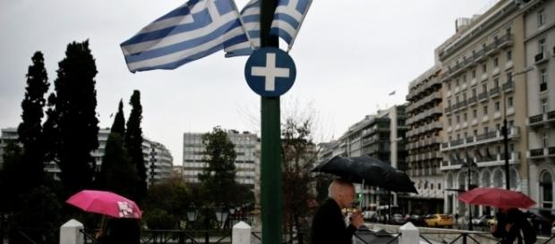 Cidade de Atenas, capital da Grécia