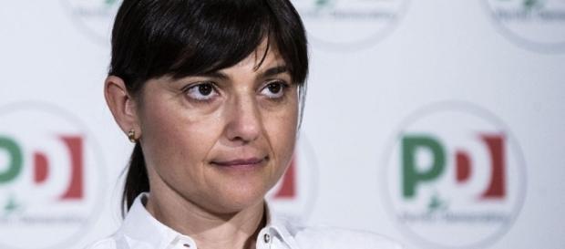 Debora Serracchiani del PD (Foto: teletermini.it)