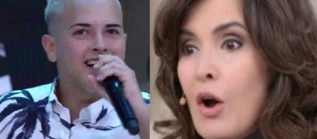 Fátima Bernardes e MC G15 - Imagem/Google