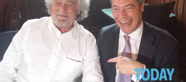 Grillo, accordo con Farage: nasce gruppo M5s - Ukip - today.it