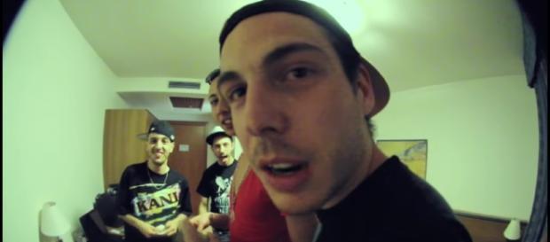 I rapper CaneSecco, Gemitaiz e Ghali.