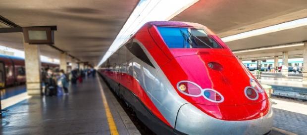 Il treno Frecciarossa di Trenitalia.