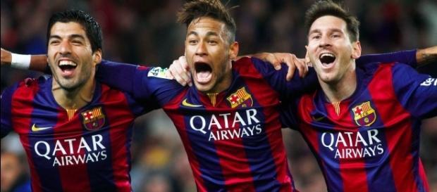 La MSN llegó a más de 300 goles juntos en el Barcelona