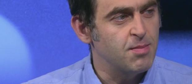Screenshot of O'Sullivan talking on Eurosport