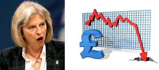 Theresa May spune că presa este vinovată de prăbușirea lirei