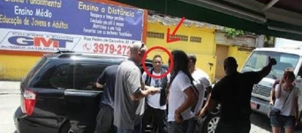 Will Smith em restaurante no subúrbio do Rio