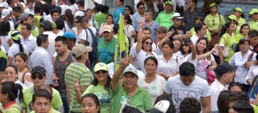 El oficialismo es el virtual ganador de la primera vuelta en Ecuador