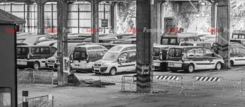 Il deposito Atac a Valco di San Paolo