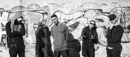 Los cinco miembros del grupo Blocka Boyz, especializado en trap