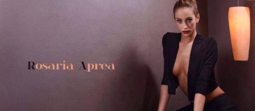 Rosaria Aprea è stata 'miss Coraggio' ma ora è agli arresti per stalking. Fonte: facebook