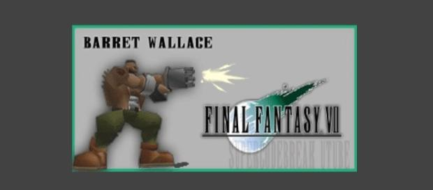 Barret Wallace (created by author)