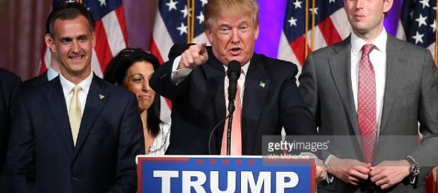 GOP Presidential Candidate Donald Trump Holds Primary Night Press ... - gettyimages.com