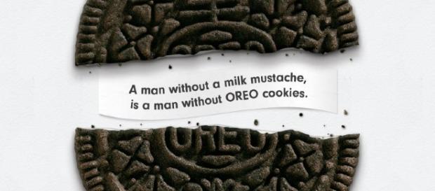Hombre sin leche en su bigote es hombre sin galletas Oreo