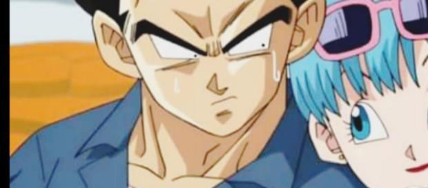 Imagen del embarazo de Bulma en Dragon Ball Super