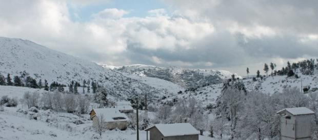 La neve è il gelo arrivano anche in Sardegna