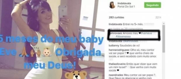 Modelo está grávida e filho pode ser de Israel Novaes - Google