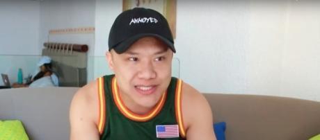"""Screenshot of Timothy, via YouTube (""""Steve Harvey Racist Asian Jokes- Women Don't Like Asian Guys?"""")"""