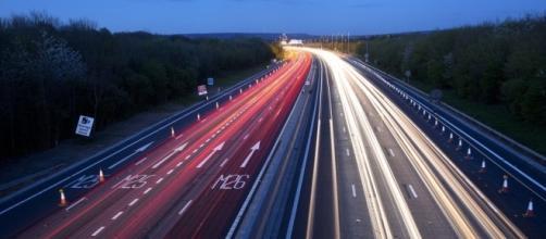 Smart highway technology was just part of CES news. (Photo via Smart Motorways in Flickr)