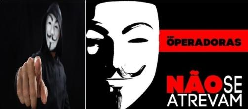 Anonymous lança ameaça as operadoras de internet fixa