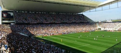 Apresentação do elenco do Corinthians será na Arena Corinthians, no dia 01 de fevereiro (Créditos: torcedores.com)