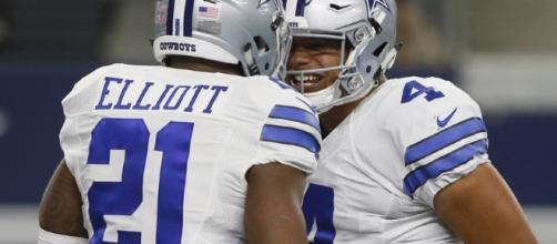 Dak and Zeke take on Challenege to take Cowboys to Superbowl Photo by Tim Heitman-USA TODAY Sports