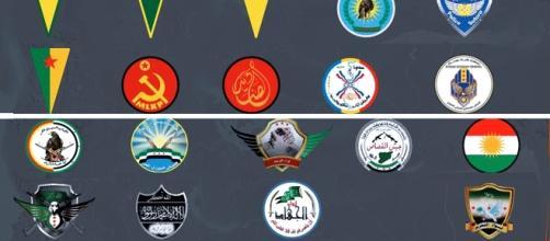 Diverses composantes non-kurdes sont ralliées aux YPG et plus largement, les autres composantes des Forces démocratiques syriennes sont des alliées